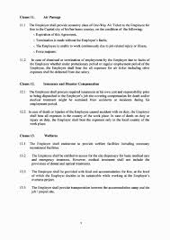Sample Letter Of Termination Of Employment During Probation by Employment Agreement U2013 Dallas Overseas