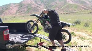 motocross bike carrier revarc smart steps revarc mx ramp u003d the easiest safest way to