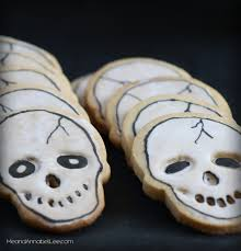halloween skull cookies vanilla sugar cookie recipe me and