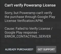 android license fix can t verify power license error on android valuestuffz