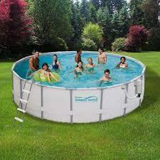 Deep Backyard Pool by Above Ground Pools Pools U0026 Pool Supplies The Home Depot
