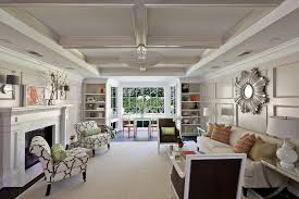 Side Chairs For Living Room Odd Shape Room Living Room Contemporary With Tray Ceiling