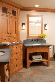 mullet cabinet u2014 arts u0026 crafts bathroom