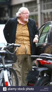 richard griffiths arriving at the covent garden hotel london