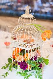 birdcage centerpieces table bollea floral design gallery