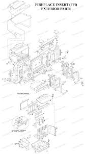 fireplace insert 0044 0046 the cozy cabin stove u0026 fireplace