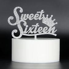 sweet 16 cake topper sweet 16 cake topper ebay