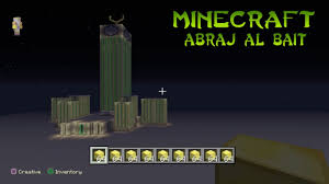 minecraft abraj al bait speed build mecca royal clock tower youtube