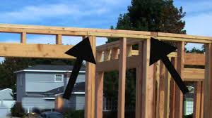 house framing top plate tips home building information youtube