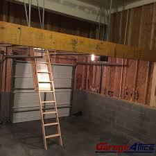 heavy duty garage storage massive overhead garage storage lofts