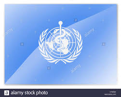 flag of the world health organization who flag world health organization stock photo 35595395 alamy
