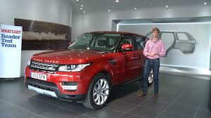 car range what car readers review the 2013 range rover sport youtube