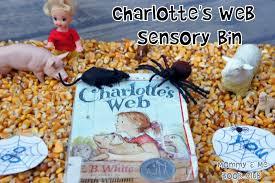 thanksgiving sensory bin mommy and me book club charlotte u0027s web sensory bin