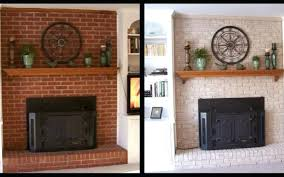 fireplace bricks ideas to paint stain mantels painting loose