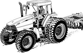 tractor trailer coloring pages tractor coloring pages farm house barn coloringstar