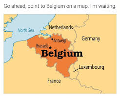 map netherlands belgium go ahead point to belgium on a map i m waiting netherlands