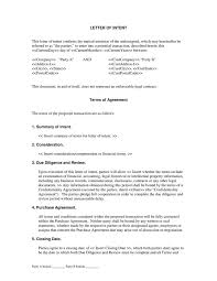 letter of intent agreement the letter of intent agreement is