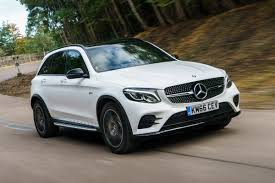 mercedes jeep white mercedes amg glc 43 2016 review auto express