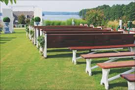 bench rentals milledgeville country club wedding crossback vineyard chair