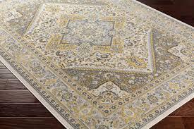 artistic weavers roosevelt roo 6209 wheeler light yellow gray rug