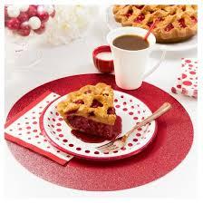40th anniversary plates sparkle and shine ruby foil 40th anniversary dessert plates 8 pk
