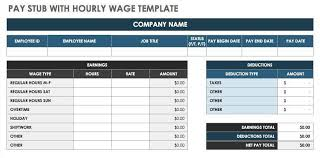 template for pay stubs 10 pay stub templates word excel pdf