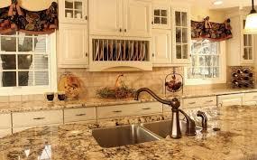 Glass Door Cabinets Kitchen Country Kitchen Black Marble Countertop High Glass Door