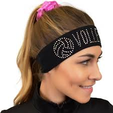 wide headband rhinestone sparkly and shiny wide headband stretch is