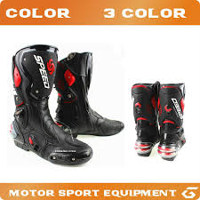 long road moto boot motorcycle racing boots automobile long shoes off road motocross