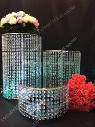 cupcake stand with led lights crystal bead silver pedestal cake cupcake snack stand set of metal