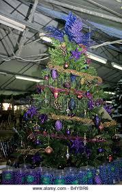 garden centre christmas decorations display stock photos u0026 garden