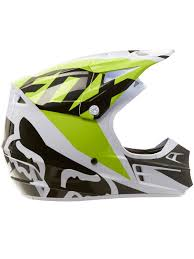 black motocross helmets fox white black green 2018 v1 race mx helmet fox