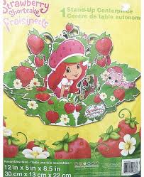 strawberry shortcake party supplies strawberry shortcake party centerpiece party supplies at party quackers