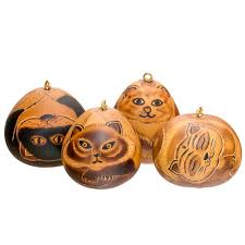 cats mixed mini gourd ornament assorted sold by 20s lucuma