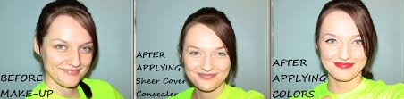sheer cover concealer light medium sheer cover review for influenster iblog my unbloggable life