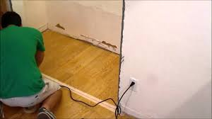 How To Lay Laminate Floors Diy Removing A Section Of Laminate Flooring With A Multi Tool