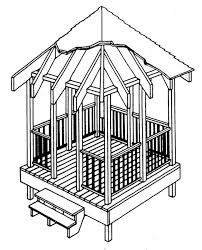 How To Build A Shed From Scratch by 22 Free Diy Gazebo Plans U0026 Ideas To Build With Step By Step Tutorials