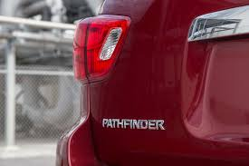 pathfinder nissan trunk 2017 nissan pathfinder sv first test review motor trend