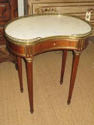 Marble Top Accent Table Antique Side Tables U0026 Small Tables