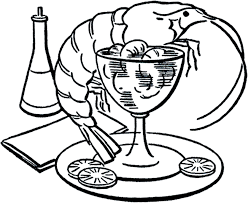 retro martini drawing shrimp cocktail cliparts many interesting cliparts