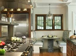 Banquette Seating Ideas Furniture Grey Upholstery Kitchen Banquette Seating Ideas With