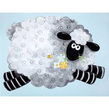 Sheep Home Decor Lewe U0027s Balloons Lewes Playmat Blue From Fabricdotcom Designed By