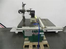 table saw power feeder machinerymax com powermatic 68 heavy duty table saw with power