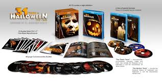 the horrors of halloween the complete halloween blu ray box set