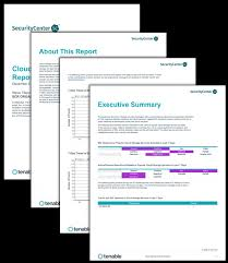 reporting website templates securitycenter report templates tenable
