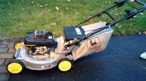 john deere 14sb lawn mower youtube
