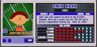 Backyard Basketball 2001 Backyard Sports Player Profile 2 Of 30 Amir Khan Backyardbaseball