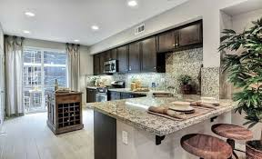 Small Kitchen Design With Peninsula Kitchen Granite Countertops With Kitchen Peninsula And Bar Stools