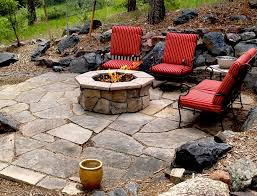 Custom Fire Pit by Custom Stone Gas Fire Pit