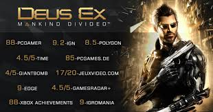 Deus Ex Machina Film by Deus Ex Mankind Divided For Playstation 4 Gamestop